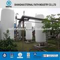 Lox LIN LAr réservoir de stockage d'huile azote liquide des réservoirs de stockage cryogénique réservoir