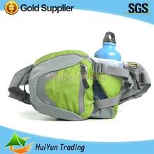 Zipper Pockets Sport Waist Pack Bags Running Belt with Bottle Holder