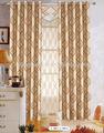 encargo de la ventana de cortinas blackout cortina del telar jacquar arábica cortinas para el hogar