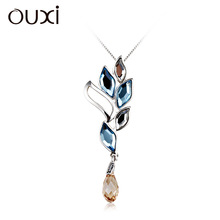 2014 fashionable wholesale crystal silver jewelry made with Swarovski elements Y30100 only pendant
