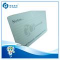 Notas de impresión pvc transparente tarjetas de visita