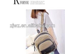 simple jute backpack