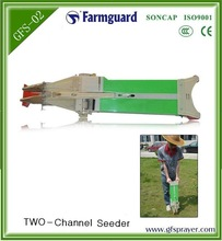 Peanut green been seed planter and fertilizer