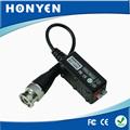 Atacado de vídeo cctv balun de vídeo passiva hy-109c transmissor