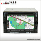 2014 hot sale 6.2'' GPS NAVIGATION DVD player with Bluetooth For Handfree