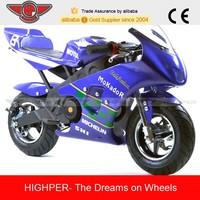 New 49cc 2-stroke Pocket Bike For Kids (PB009)