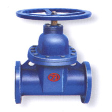 Flexible seats inside screw nonrising stem wedge ductile iron gate valve