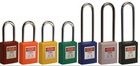 Hot selling!!! Keyed alike with master key ,CE certificated security padlock BO-G11 Padlock (Non-conductive) , Safety steel lock