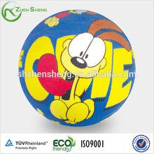 rubber basket ball for children sports