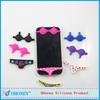 Bikini silicone mobile phone accessories, made in China