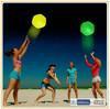 New Custom Hot Selling Promotion Fluorescent Glow Plastic Beach Toy Balls