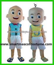 hot sale mascot costume upin & ipin mascot for adult