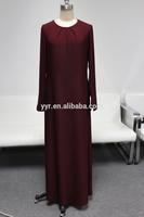 2014 straight design jersey latest abaya style
