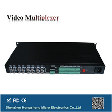 China wholesale 16 channel cat 5 to fiber converter