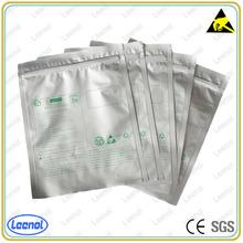 LN-7012 Zip Lock Silver Aluminium Foil Bag