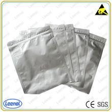 LN-7012 Silver Zip Lock antistatic plastic bag
