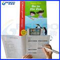 Quente- venda antecipada de ensino de inglês ler pena falar, tradutor da língua, toque pena ler com audiobooks