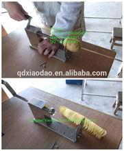 snack machine twist potato chips cutter / twist fries cutter