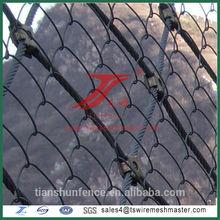slope stabilization net/1x1x1 gabion box/stainless steel stone cages/stone massage mattress