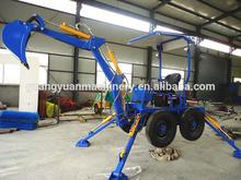 Terna escavatore idraulico, mini rimorchiabile escavatore con fabbrica ce, 18 hp mini escavatore