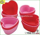Heart Shape Silicone Cupcake molds