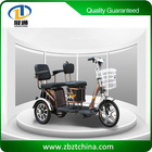 Three wheel motorcycle of electric tricycle for passenger 350W