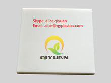 virgin white hdpe sheet, high density polyethylene board, PE500 plastic plate