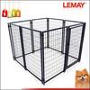 Outdoor 5x5x4ft heavy-duty wire folding dog run panels
