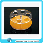 tier holes acrylic cup holders mini plexiglas display wine cup stands luxury counter bar acrylic cup holders