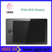 UGEE-G5 2048 levels 5080 LPI 220 rps 8 GB Memory wireless graphic tablet