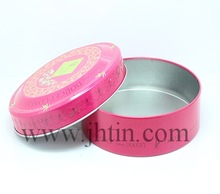 alibaba express round bulk china tea tin box/ black tea tin box