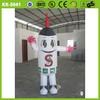 Sayok customized whtie high quality advertising inflatable cartoon