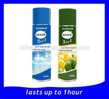 konnor air freshener, rose and jasmine fragrance freshener spray ,pump spray airfreshener