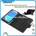 Sem fio Bluetooth destacável teclado do computador para Samsung Tab 3 Lite T110 / T11