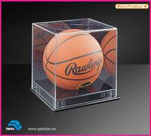 Simple Transparent Acrylic Basketball Display Box