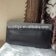 Handmade leather handbag manufacturers oversized magazine clutch bag 331217