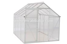 4 rooms aluminum frame green house / aluminum greenhouse/grow tent