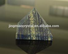 Charming SMALL Lapis Lazuli Crystal Pyramid/ Lapis lazuli stone carved pyramids
