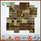 Beautiful glow glass mosaic Guangdong China