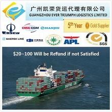 LCL sea shipment from China Shanghai/Shenzhen/Guangzhou to Jebel Ali,Dubai