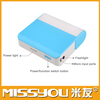 2014 New arrival mirror portable charger power bank manufacturer 6000mah