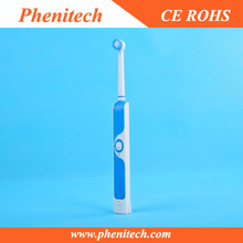 New style electric toothbrush with rounded end bristle