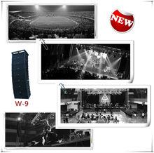 Cvr pro audio dual 12 pulgadas array+stage línea sistema de sonido