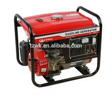 2kw-6kw electric start luantop ,motorcycle muffler, honda engine, yamaha big alternator, portable generator for home with price