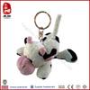 SEDEX ICTI audit factory China manufacturer stuffed farm animal keychain toy plush cow keyring