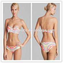 2014 New design customised bikini swimwear