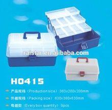 China fishing tackle box H0415 & small product packaging box