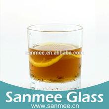 Machine Pressed Thick Bottom Round Glassware