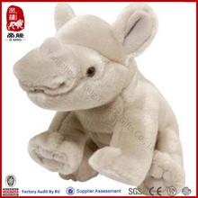 realistic stuffed rhino toys manufacture