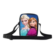 2015 Hot selling Frozen school bags Frozen Message bags for students Frozen school bag